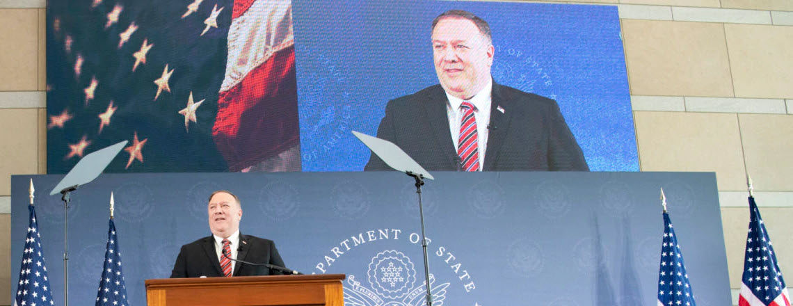 Secretary Pompeo: Unalienable Rights and the Securing of Freedom