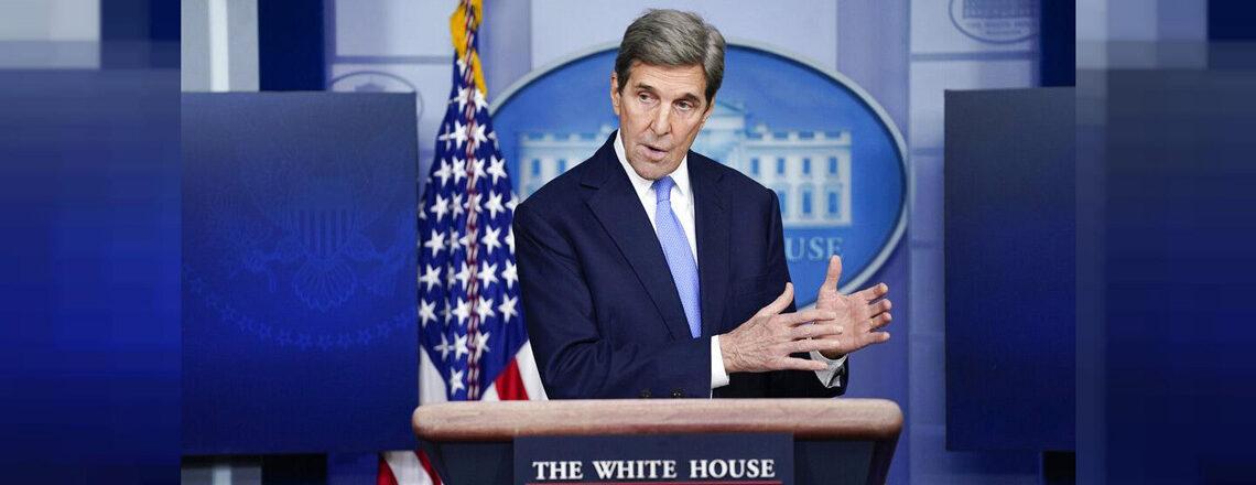 Il viaggio dell'inviato presidenziale per il clima Kerry nel Regno Unito e in Italia