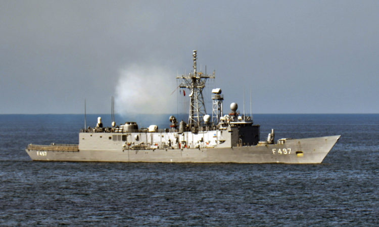 Ship in Baltic Sea (U.S. Navy)