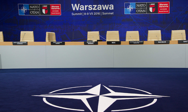 Warsaw summit background (NATO)