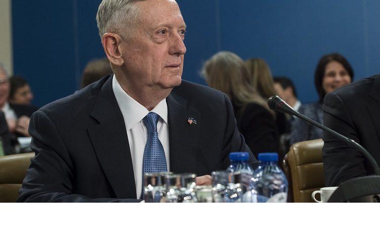 Secretary Mattis at NAC table