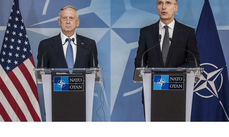 Secretary Mattis and Sec Gen Stoltenberg