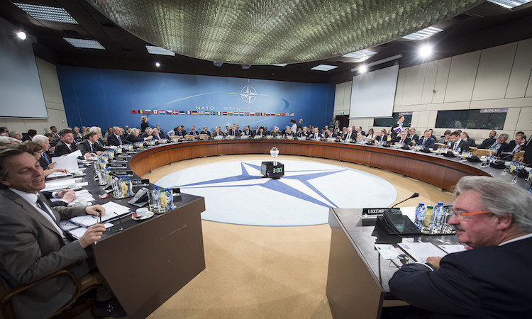 NAC room during Foreign Ministerial