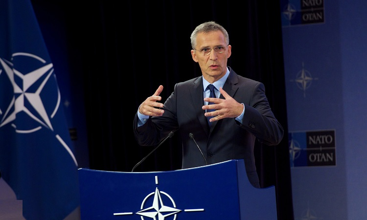 NATO announces a significant increase in the number of its forces in Iraq SG-pre-June-DefMin-brief