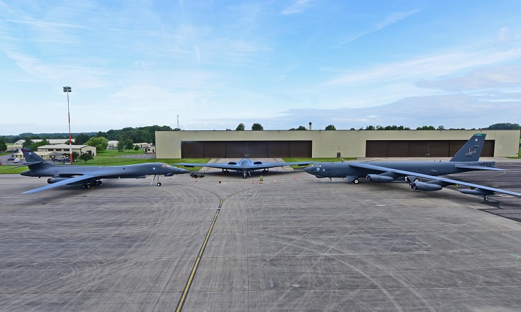 B-1B Lancer, B-2 Spirit, B-52 Stratofortress