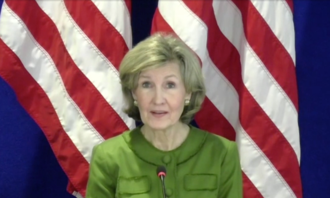 U.S. Ambassador to NATO Kay Bailey Hutchison