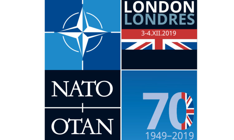 NATO Leaders Meeting in London logo