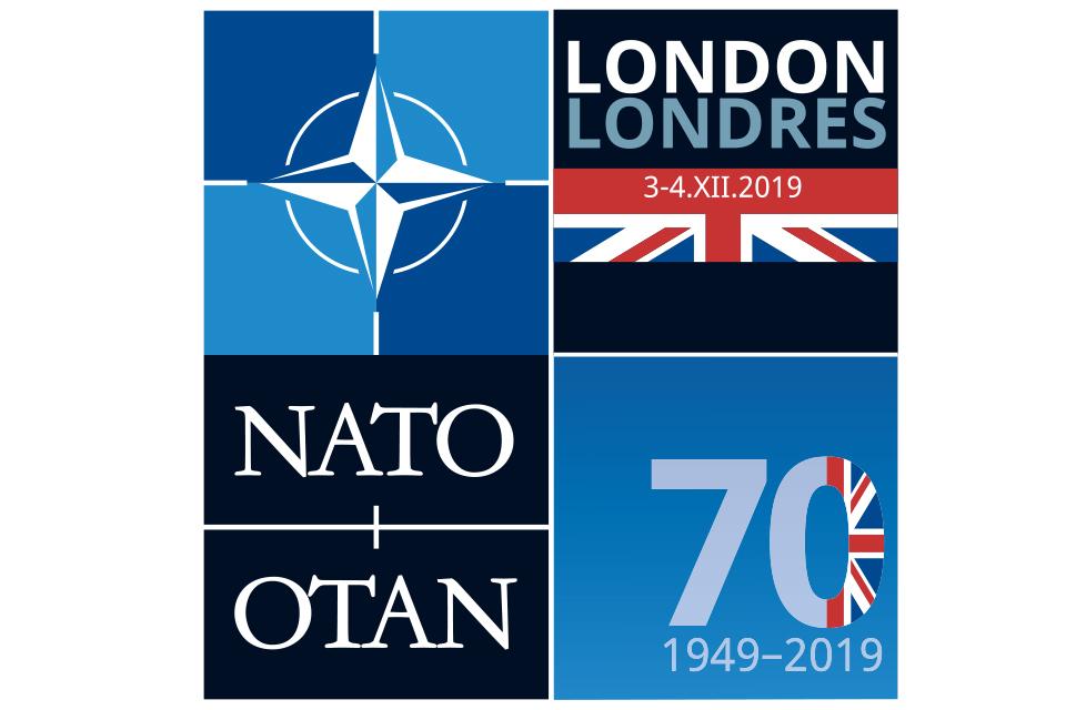 NATO Leaders Meeting in London logo