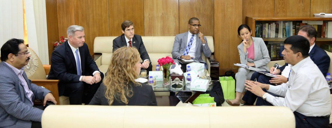 Ambassador-At-Large to Monitor and Combat Trafficking In Persons Visits Bangladesh
