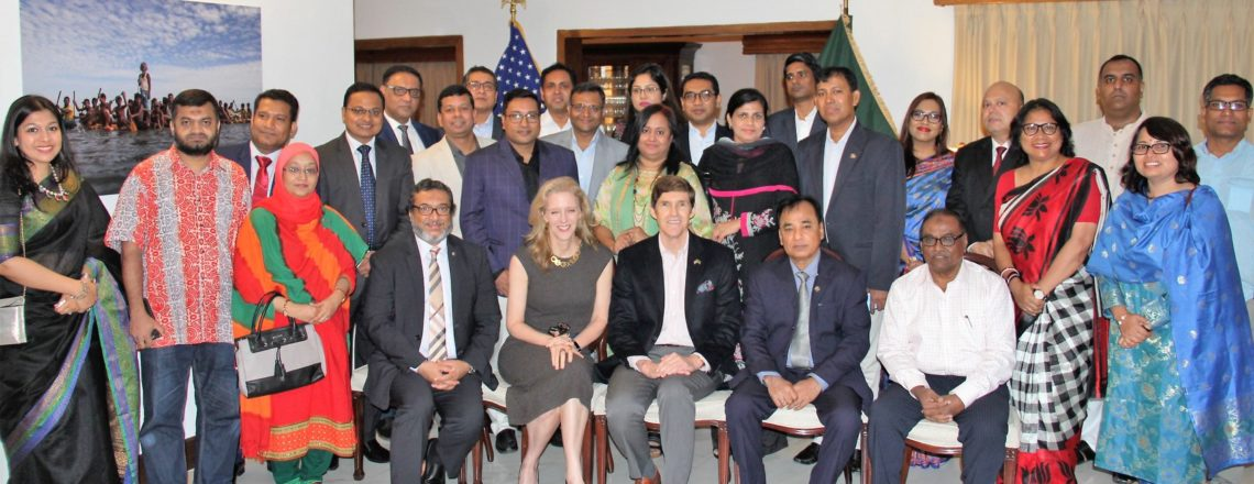Ambassador Miller Celebrated Humphrey Fellowship Program 40th Anniversary with Alumni