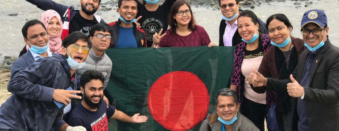 140 Bangladeshi and South Asia U.S. Program Alumni Join Environmental Cleanup in Nepal