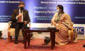 Ambassador Miller and IEDCR Director Dr Tahmina-750