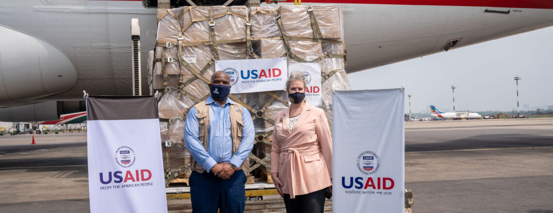 U.S. Delivers a Second Shipment of Emergency Medical Supplies to Bangladesh