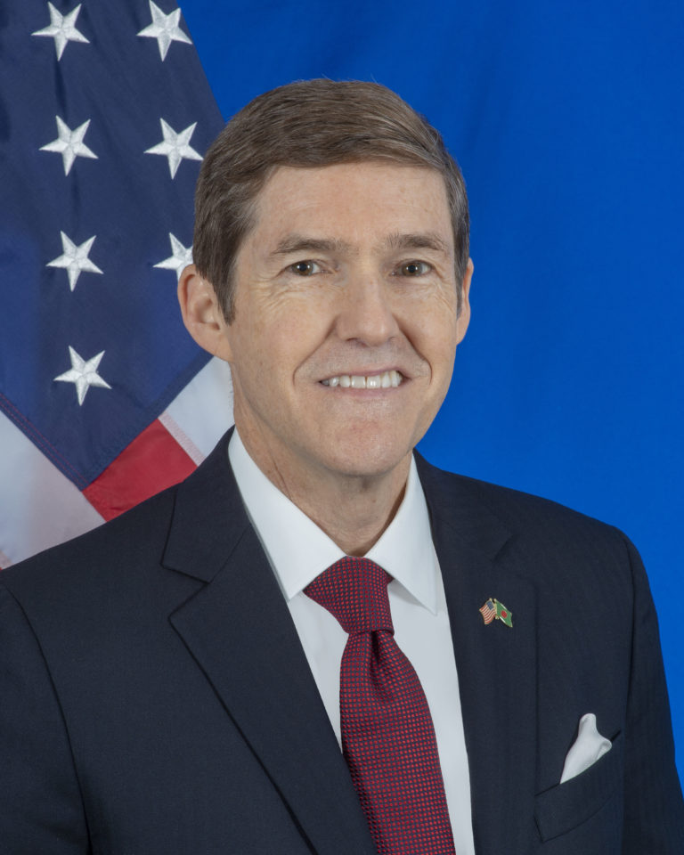 Photo of Ambassador Earl R. Miller
