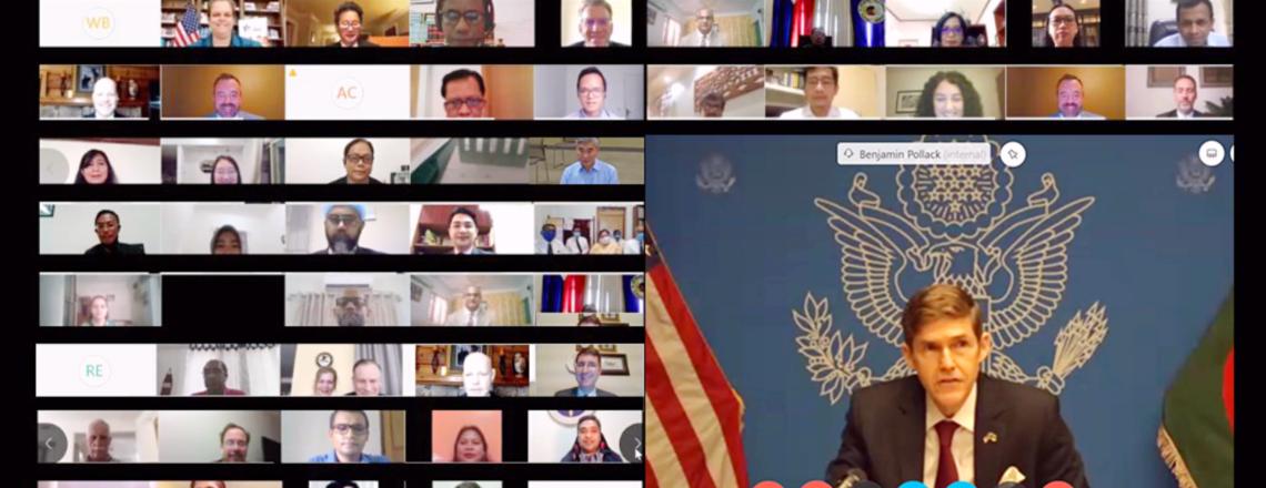 Ambassador Miller Participates in First-Ever SE Asia Virtual Counterterrorism Conference