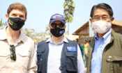 Heads of International Missions Visit Cox's Bazar while wearing masks