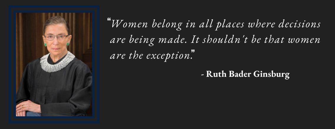 Ambassador Miller on Passing of Supreme Court Justice Ruth Bader Ginsburg (1933-2020)