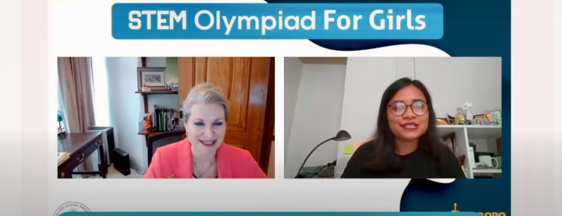 """Deputy Chief of Mission JoAnne Wagner Inaugurates the 2021 """"STEM Olympiad for Girls"""""""
