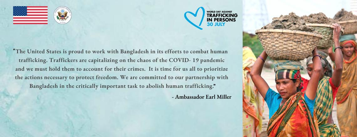 Ambassador Miller Speaks at UN Network on Migration World Day Against Trafficking Event