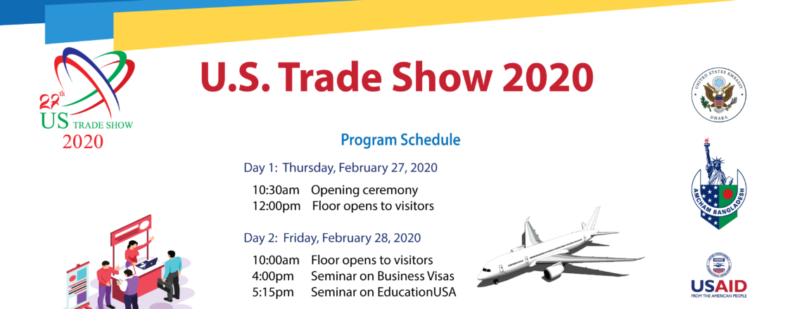 27th Annual U.S. Trade Show to Feature more than 50 U.S. Companies!