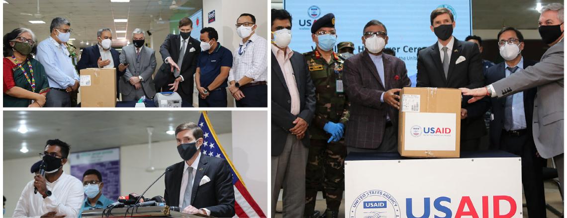 U.S. Delivers 100 Ventilators to Bangladesh in Response to COVID-19