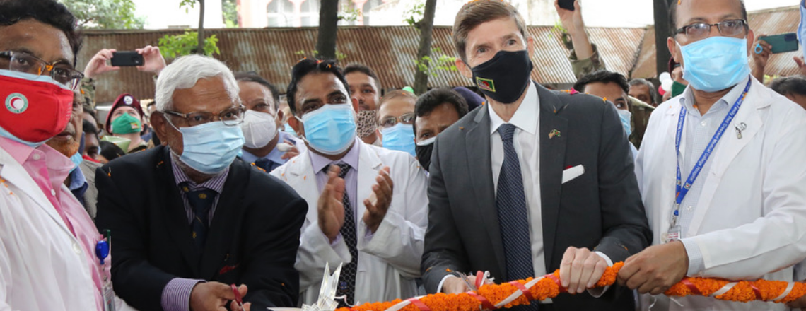 Ambassador Earl Miller Visits the Holy Family Red Crescent Medical College Hospital