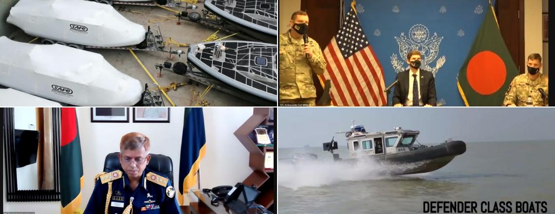 U.S. Donates Metal Shark & Defender Patrol Boats to The Bangladesh Navy & Coast Guard