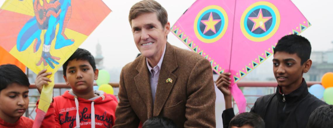 Ambassador Miller Joins Annual Winter Sakrain Festival
