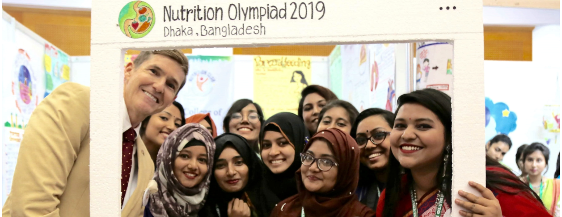 Ambassador Miller Attended The Nutrition Olympiad