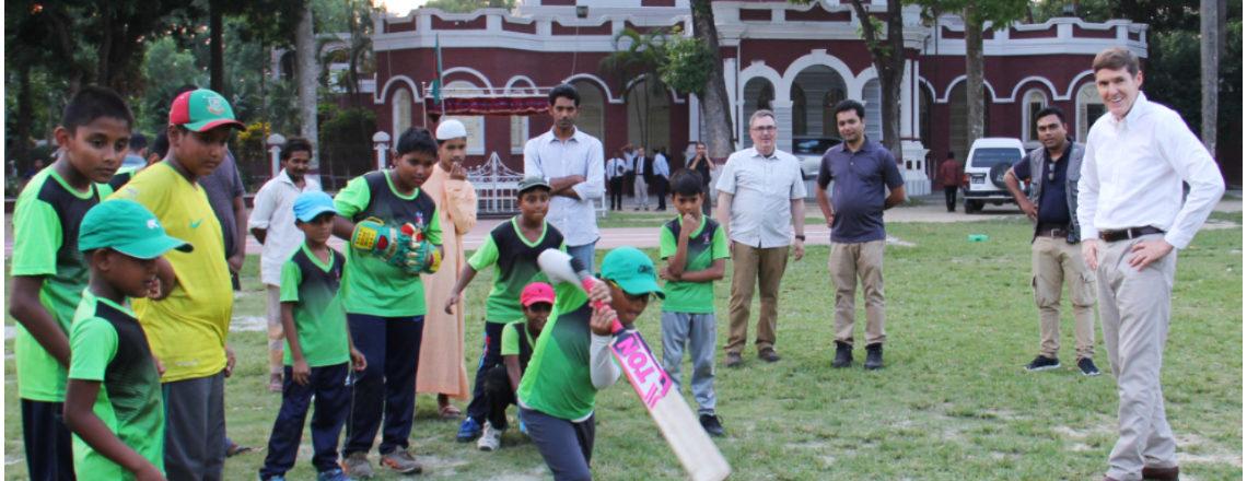 Ambassador Miller Visits Mymensingh
