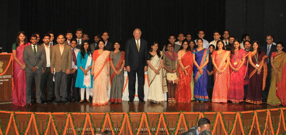 Under Secretary Political Affairs Tom Shannon in New Delhi