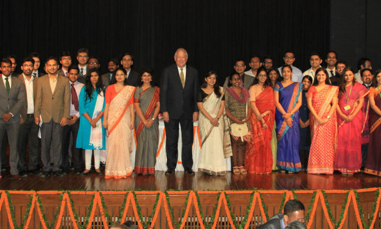 Under Secretary Political Affairs Tom Shannon in New Delhi