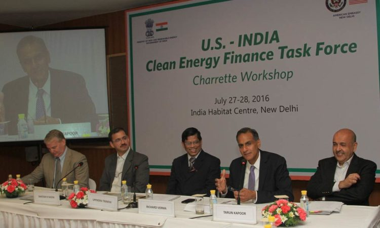 Ambassador Verma to the Clean Energy Finance Taskforce