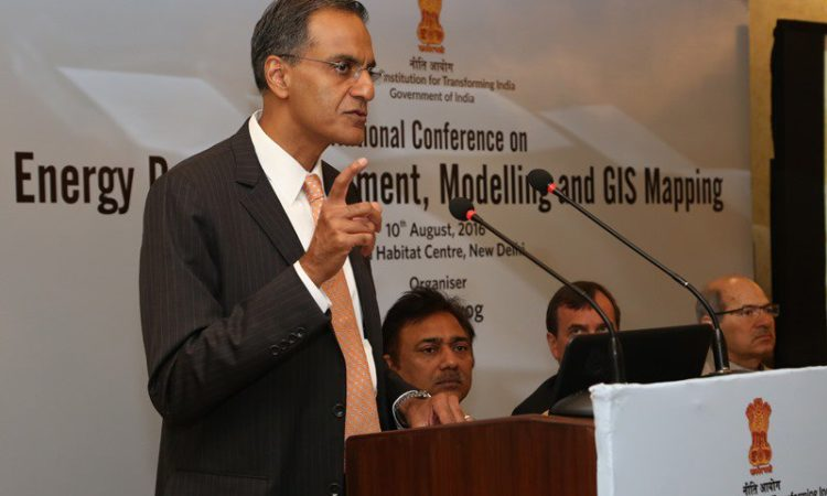 Ambassador Verma at NITI Aayog Conference on Energy Data Management, Energy Modeling, and Geospatial Analysis