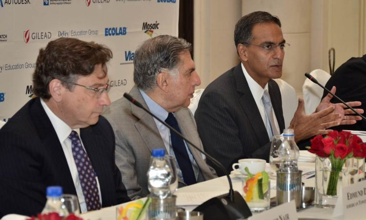 Ambassador Verma at the Business Council of International Understanding (BCIU) Competitiveness Forum Roundtable