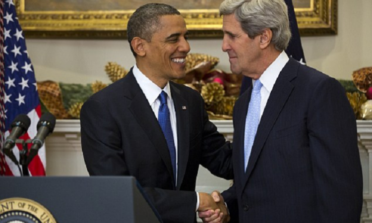 President Barack Obama and Secretary John Kerry