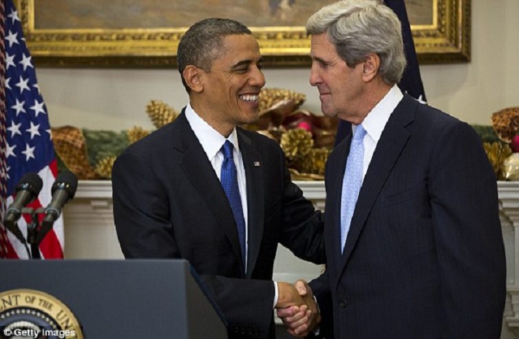 President Barack Obama and Secretary John Kerry