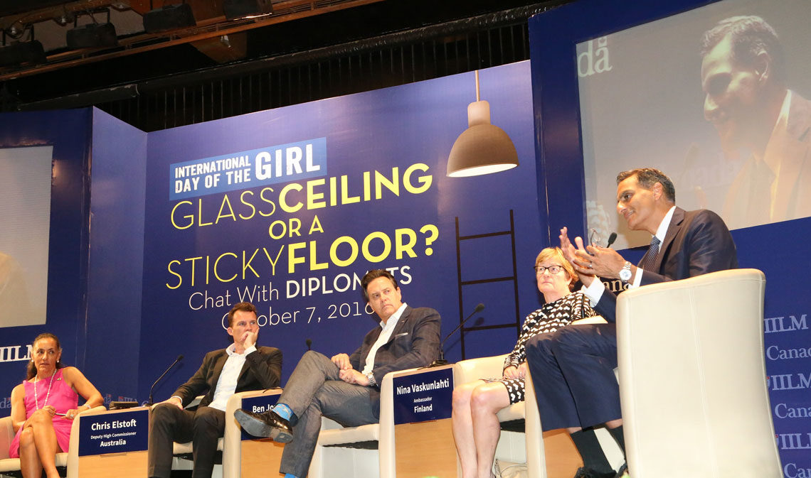 Chat with Diplomats for International Day of Girl at IILM - October 7, 2016
