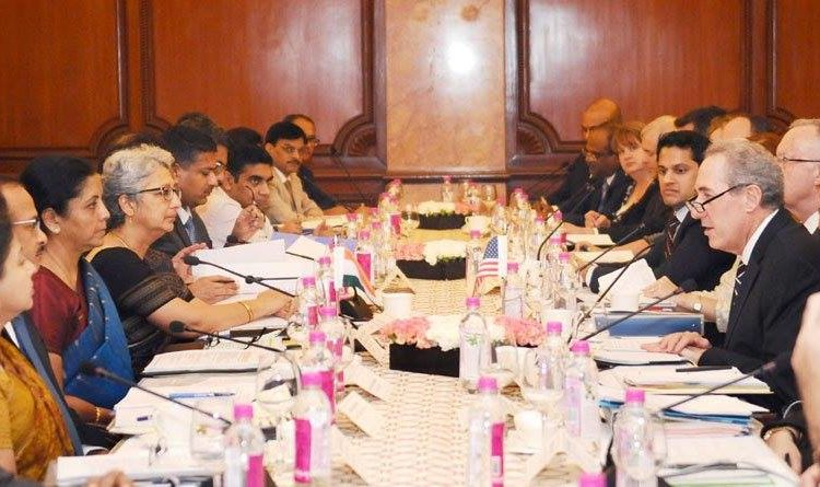 The tenth ministerial-level meeting of the India and United States Trade Policy Forum (TPF). Photo: Press Information Bureau - PIB, Government of India
