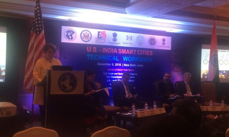 Remarks by DCM MaryKay Carlson at the Smart Cities Workshop, December 8, 2016