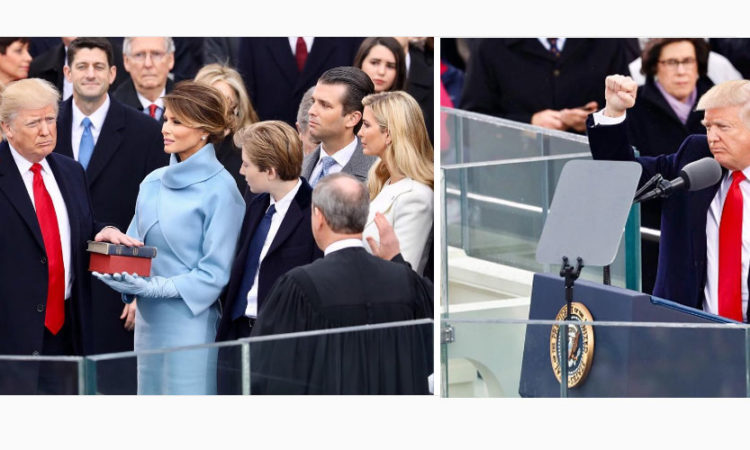 The Inauguration of Donald J. Trump, January 20, 2017