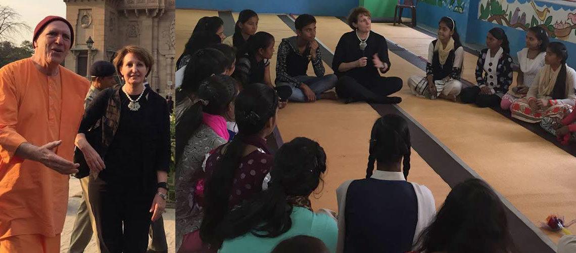 Chargé d'affaires (CDA) MaryKay Carlson visits Kolkata