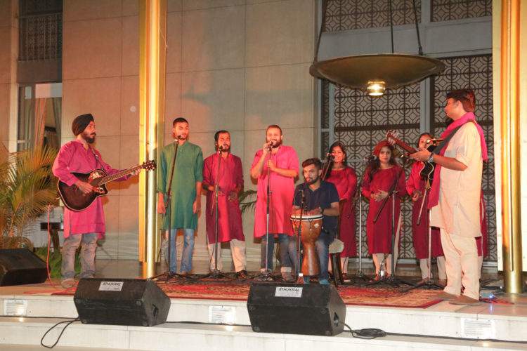 Manzil Mystics led by alumni of Community College Initiative  performed at the Roosevelt House on April 21