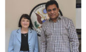 Joint Statement by Telangana IT and Industries Minister, K. T. Rama Rao and U.S. Consul General Katherine Hadda