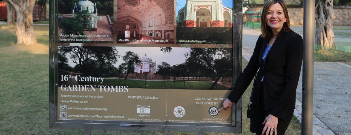 असिस्टेंट सेक्रेटरी मैरी रॉयस ने भारत का दौरा किया