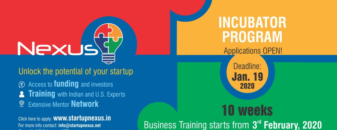 Nexus is Now Accepting Applications for its Ninth Pre-Incubation Program