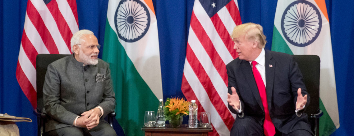 President Donald J. Trump to Visit India, February 24-25, 2020