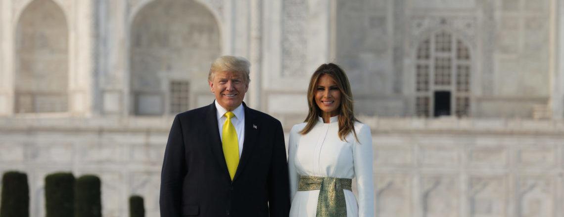صدر ٹرمپ نے شہرہ آفاق تاج محل کا دورہ کیا
