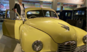 U.S. Consul General Chennai Judith Ravin wound up her Coimbatore trip with a visit to the Gedee Car Museum on Thursday,September 2.