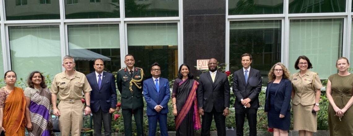 U.S.-India 2+2 Intercessional Dialogue